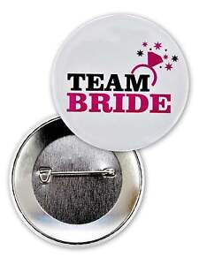 TEAM BRIDE HEN NIGHT PARTY BADGES HEN NIGHT PARTY QUALITY BADGE HEN BADGES