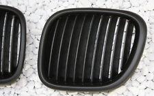 Sport Griglia Radiatore Impostare per BMW Z3 95-02 Roadster Coupe Nero Black