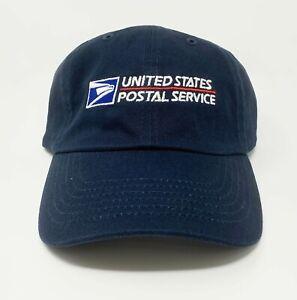 Postal Office Logo Adjustable Dad Hat USPS Navy