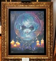Disney Parks Haunted Mansion Madame Leota LE Framed Giclee Becket-Griffith 50th