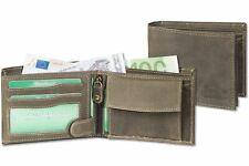 Woodland® Riegelgeldbörse im Querformat Leder Protecto® RFID-Blocker Schutz