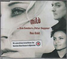 Milu ( PETER HEPPNER & KIM SANDERS )  CD-SINGLE  AUS GOLD