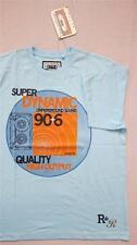 Mens T-Shirt 100% Cotton Casual Top Rock & Revival Size M  40 42 UK Sky Blue New