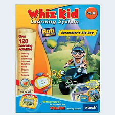 NEW VTECH WHIZ KID BOB THE BUILDER SCRAMBLERS BIG DAY