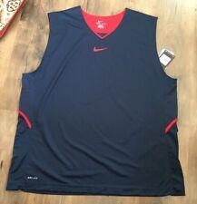 New Nike Hyper Elite Xxxl Mens Jersey Dri-fit Navy 3Xl
