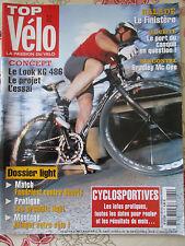 TOP VELO N°74: MAI 2003: LE FINISTERE - BRADLEY MC GEE - LOOK KG 486 - FONDRIEST