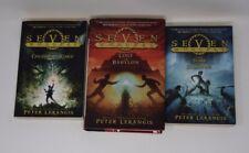 SEVEN WONDERS Peter Lerangis Starter Set 1-3 VGC