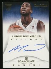 2012-13 Immaculate Inscriptions Andre Drummond RC Rookie AUTO 35/99 Pistons