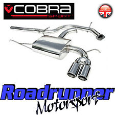 """COBRA AUDI A3 2.0 TDI 170bhp Sistema di scarico 2.5"""" INOX CAT RETRO 2WD 3 PORTE 8P"""