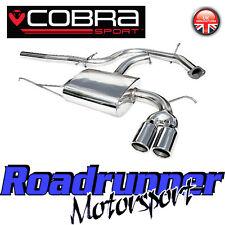 "Cobra AUDI A3 2.0 TDI 170bhp Sistema De Escape De Acero Inoxidable 2.5"" Puerta Trasera Gato 2WD 3 8P"