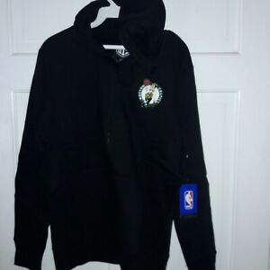 Boston Celtics basketball Hooded Full-zip Sweatshirt NBA Shirt NEW -- Ladies L