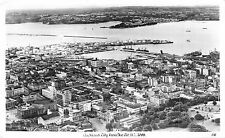 Foto ak auckland city from the air nuevo Zeeland real foto tarjeta postal gel. 1957