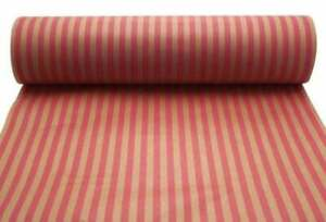 Kraft Wrapping Paper, Gift Wrapping, Cerise Stripe, Eco Friendly Mothers Day 3M