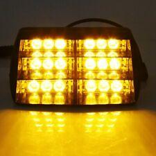 Auto LKW 18 LEDs Dash Strobe Taschenlampe Blitzer Licht Warnleuchte Gelb Lampen