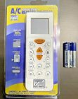 Universal Air Conditioner Remote, Works W/ Many AC Codes, Comes With Batteries photo
