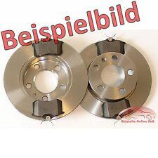 Bremsscheiben 280mm belüftet Bremsbeläge vorne für Nissan X-Trail T30 bis 02.07