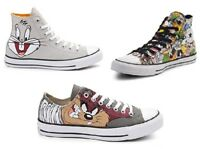 Converse x Looney Tunes Youth & Toddler Shoes Hi top / Low Top / Loony Toones