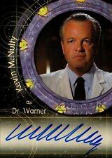 Stargate SG1 Season 8 Autograph card A64 Kevin McHulty as Dr Warner
