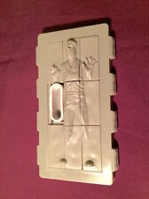 HAN SOLO IN CARBONITE BLOCK 1997 STAR WARS PIZZA HUT PUZZLE TOY FIGURE MIP!