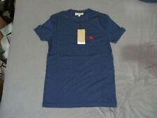 LONDON BURBERRY COTTON JERSEY T-SHIRT MENS NAVY EXTRA SMALL XS Brand new