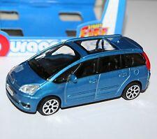 """Burago-Citroen C4 Picasso 2011 (bleu) - """"Street Fire Modèle"""" échelle 1:43"""