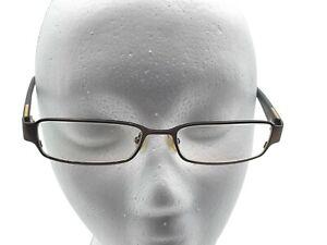 Banana Republic eyeglasses frames 53 17 140 Douglas bronze brown hipster