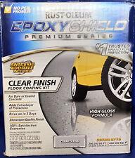 New listing Rust-Oleum Epoxyshield Premium Series Clear Finish Floor Coating Kit