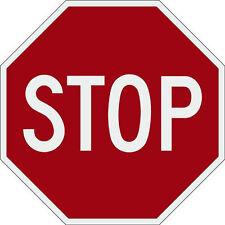 Stop sign 30x30 aluminum 3M engineer prismatic reflective
