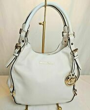 Michael Kors Bedford Belted Large Leather Shoulder Tote in Ivory EEUC