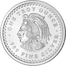1 oz. Golden State Mint Silver Round Aztec Calendar .999 Fine
