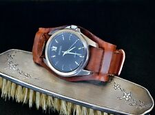 20mm Handmade Swiss Ammo Leather nato Watch Strap watchband vintage military