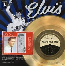 Liberia 2012 Gomma integra, non linguellato Elvis Presley CLASSIC HITS 1v S/S III Rock-a-Hula Baby FRANCOBOLLI