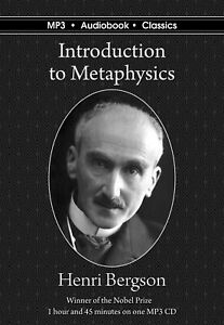 Introduction to Metaphysics - MP3 CD Audiobook in DVD case
