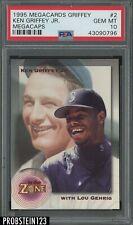 1995 Megacards Ken Griffey Jr. Megacaps #2 Ken Griffey Jr. PSA 10 GEM MINT POP 2