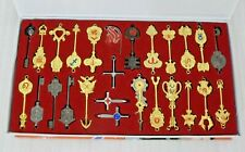 Anime Fairy Tail Lucy Set of 26Pcs Keys Necklace Pendants Keychains Cosplay Gift