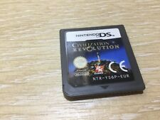 Civilization Revolution Nintendo DS Game Cartridge Only Civilisation