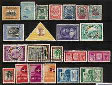 DOMINICANA Stamps Collection Used Waterfall Bird Flag Banana Butterfly Lion DOM2