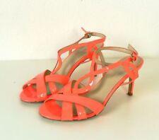 NAVYBOOT Sandale Bride neon corail orange talon aiguille stiletto Taille EUR 37 (dw107)
