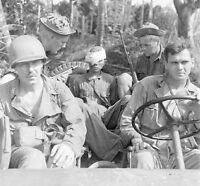 WW2 Photo WWII Captured Japanese Soldier New Guinea  World War Two /1445