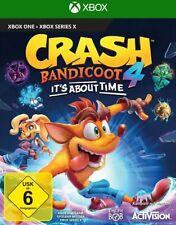 Crash Bandicoot 4: its about time (Xbox One) (nuevo con embalaje original) (Uncut) (reserva)