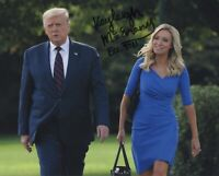 KAYLEIGH MCENANY SIGNED AUTOGRAPH US PRESS SECRETARY TRUMP  FOX  8X10 PHOTO #3