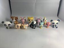 LPS 💕 Littlest Pet Shop  Authentic Lot 12 Blemished Pets 🎁 Bag