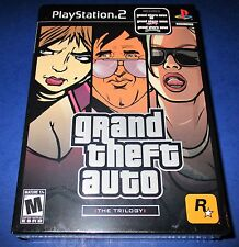 Grand Theft Auto: The Trilogy Sony PlayStation 2 *Factory Sealed! *Free Shipping