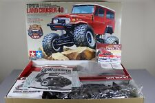 "New Tamiya 1/10 R/C Toyota Land Cruiser 40 Truck CR-01 ""Partial Paint"" + Upgrade"