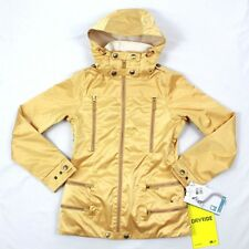 Burton 2L Elevation Snowboard Jacket DRYRIDE Durashell Gold Waterproof Coat $339