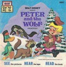 Disney Peter & the Wolf 24 Page Read Along Book No Tape Book Only Prokofieff