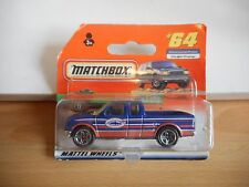 Matchbox 1997 Ford F-150 Pick-up in Blue on Blister