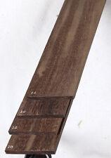 One Katalox guitar fretboard blank fingerboard 2.75x20 KXF20