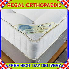 """NEW 4ft 6"""" Double DELUXE BEDS 10 INCH DEEP REGAL FIRM ORTHOPAEDIC MATTRESS"""