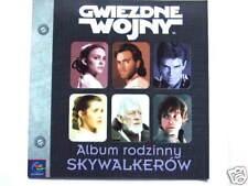 ►►Polish story book Star Wars Album rodzinny Skywalkerów The Skywalker Family